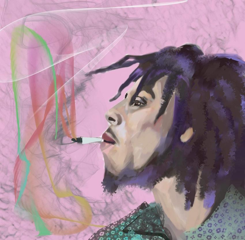 Bob Marley by ferrokaro